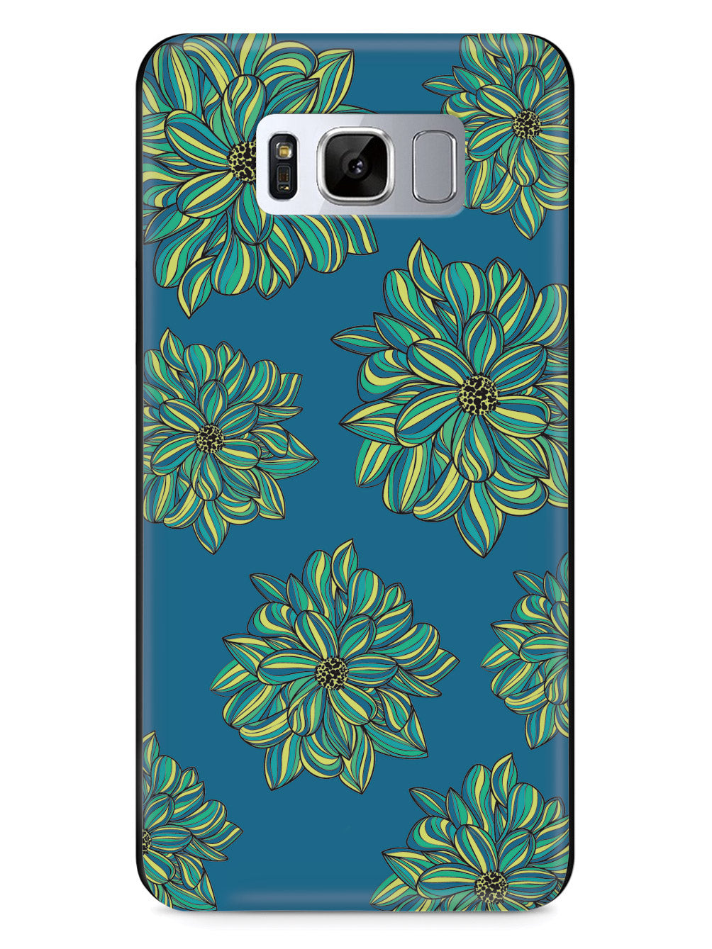 Blue Flower Pattern Case