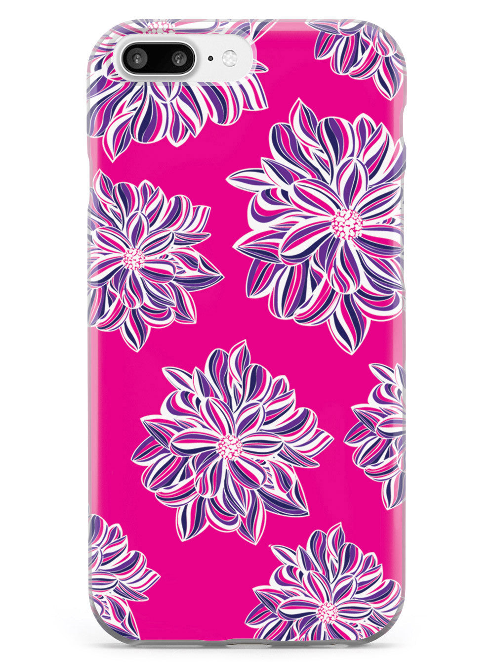 Pink Flower Pattern Case