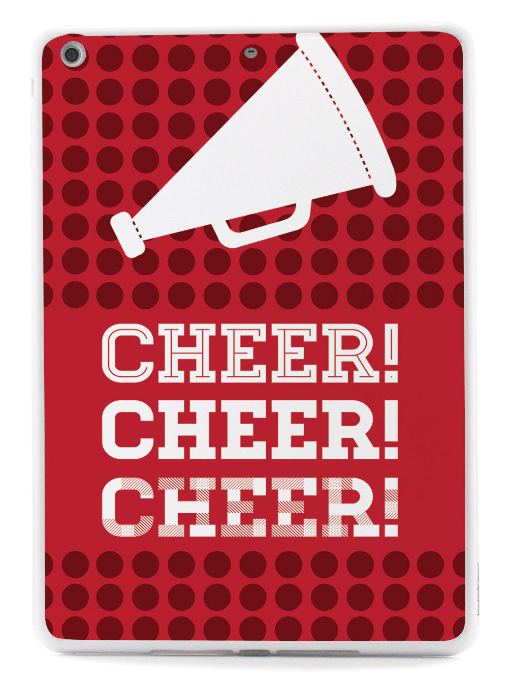 Cheer! Cheer! Cheer! Design Cheerleading Case