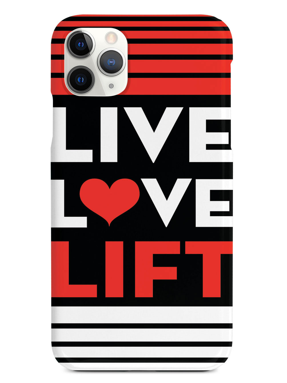 Live, Love, Lift Working Out Gym Case