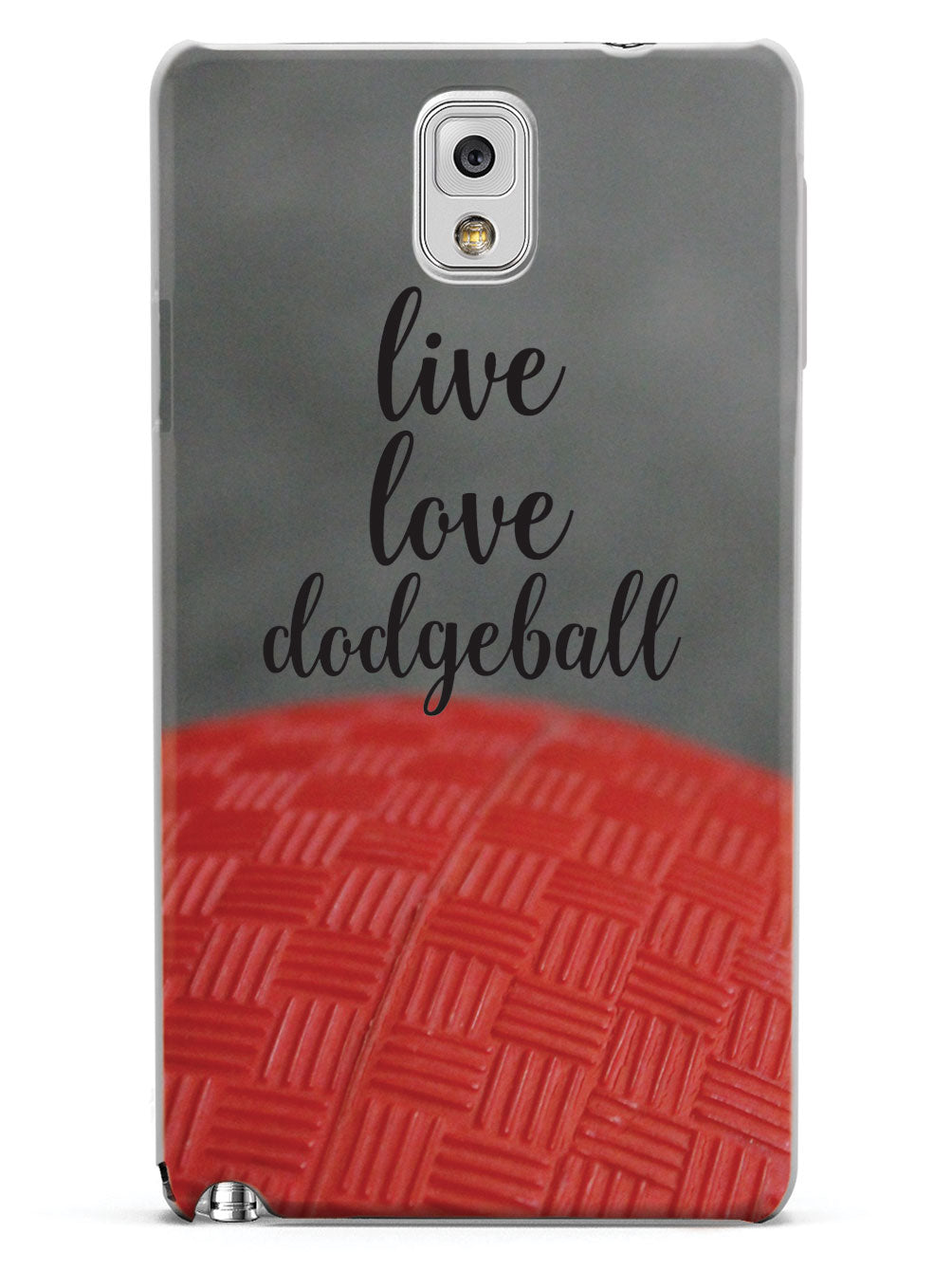 Live Love Dodgeball Case