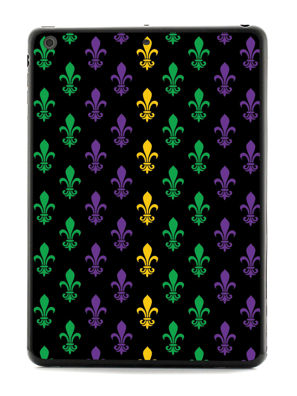 Mardi Gras Pattern - Black Case