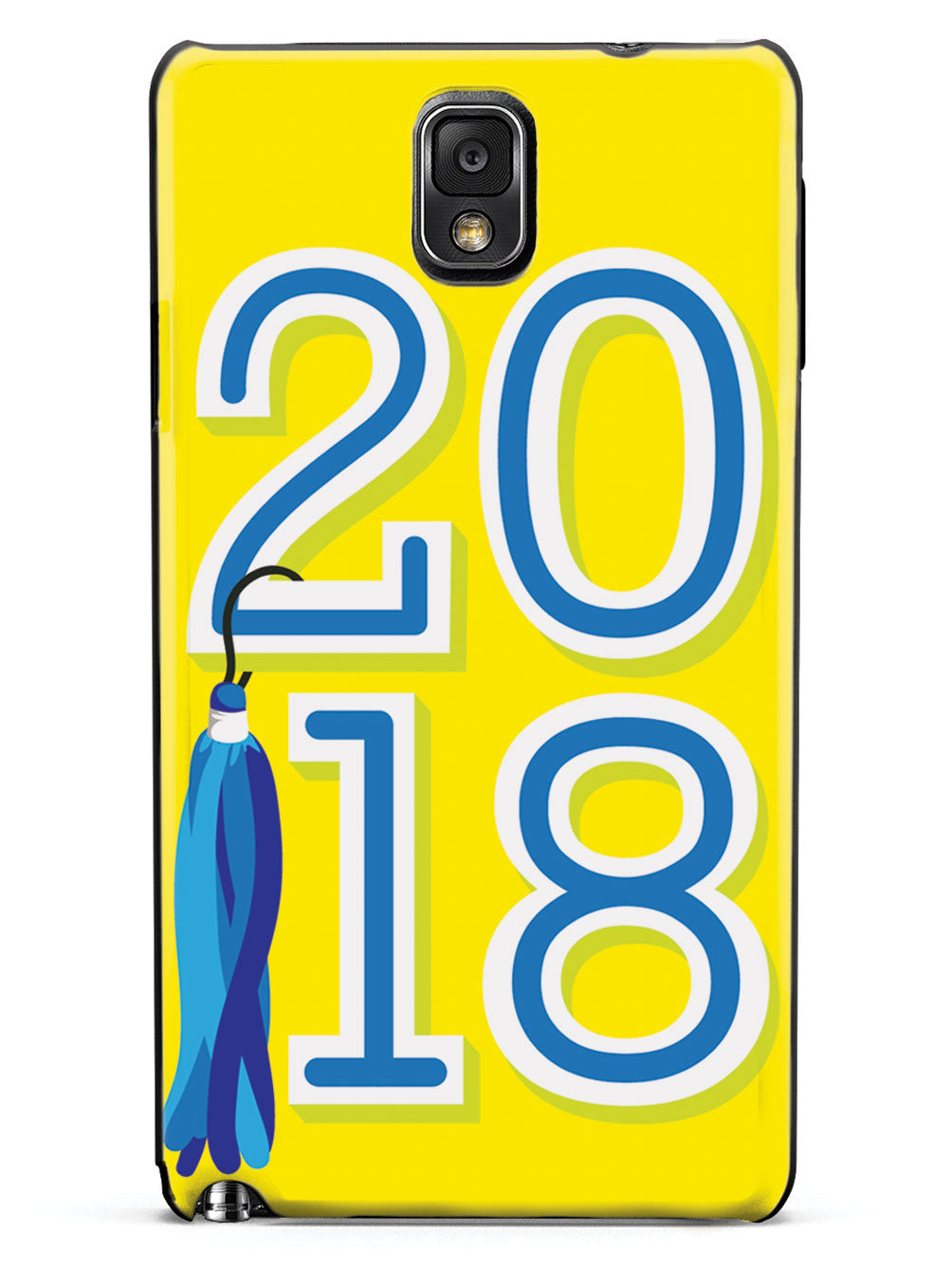 Class of 2018 - Yellow - Black Case