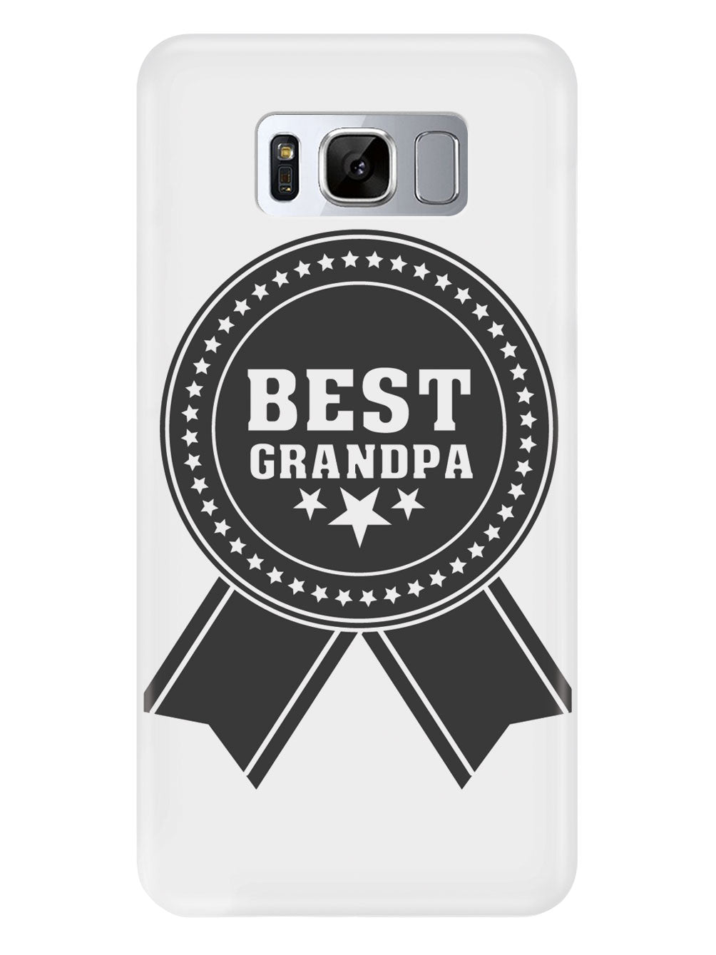 Best Grandpa - Ribbon - White Case