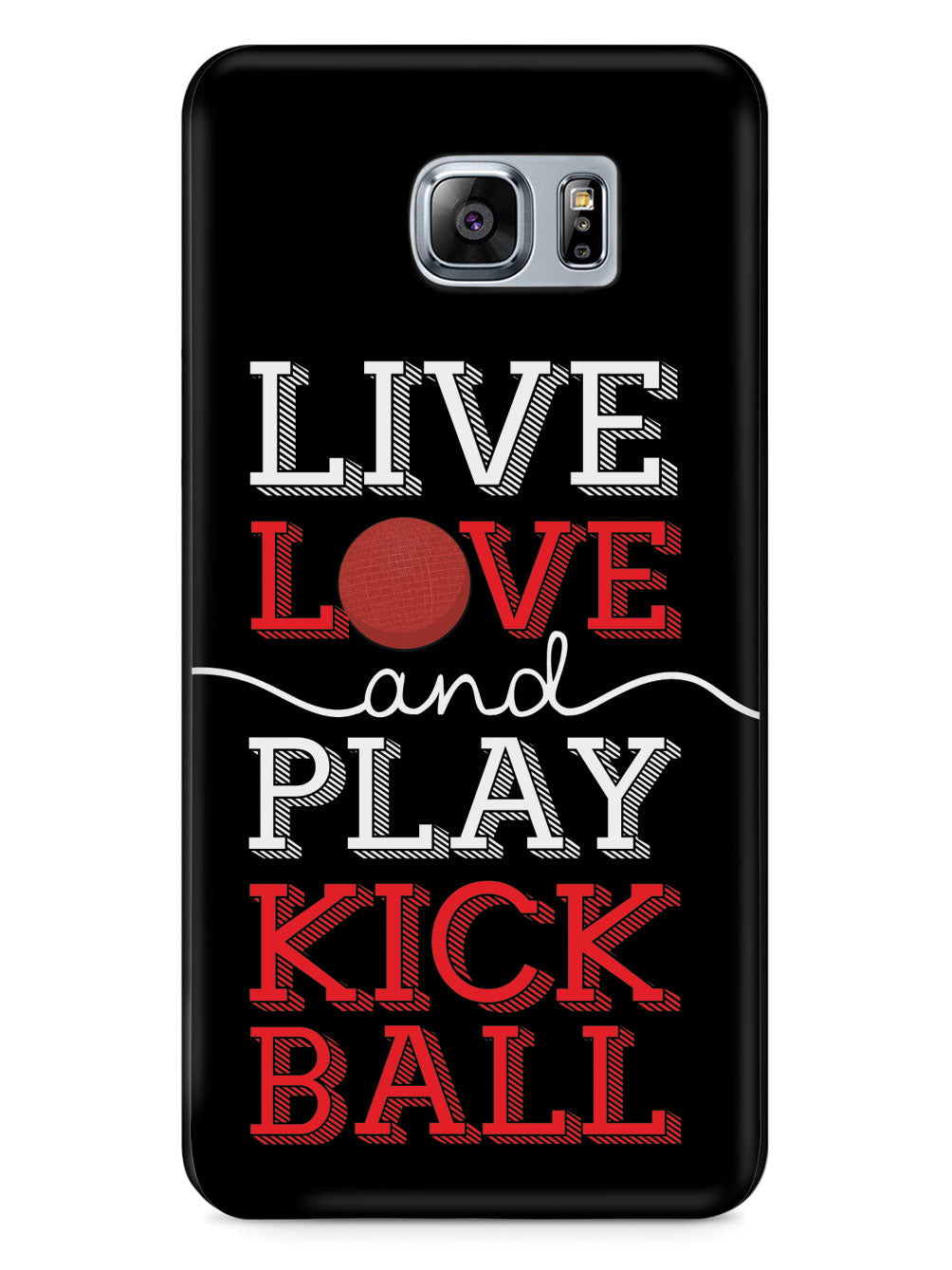 Live Love Play Kickball - Black Case