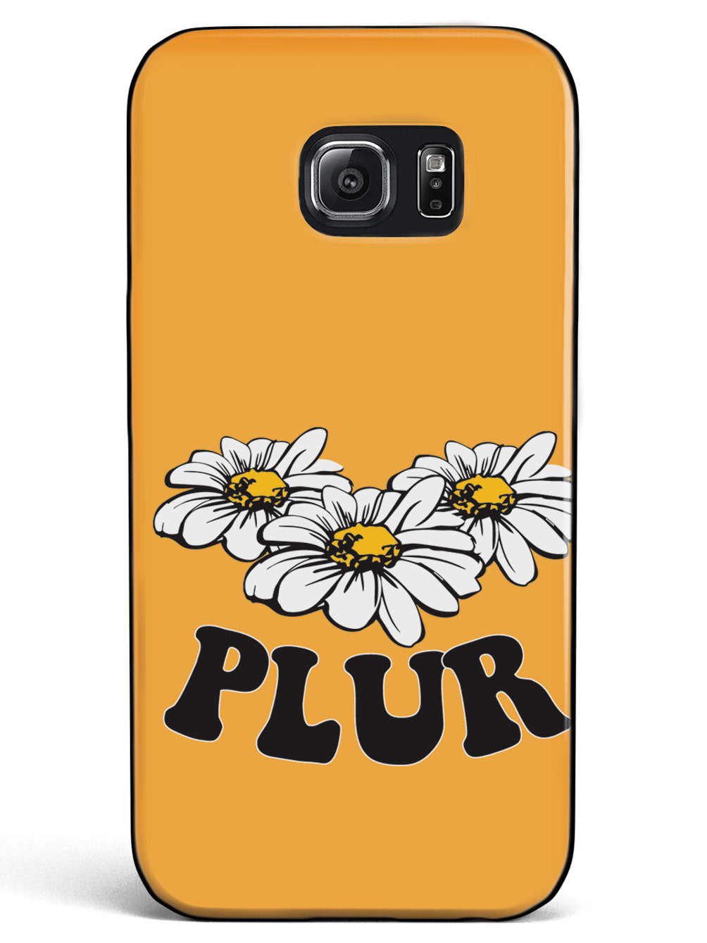 Orange PLUR - Black Case