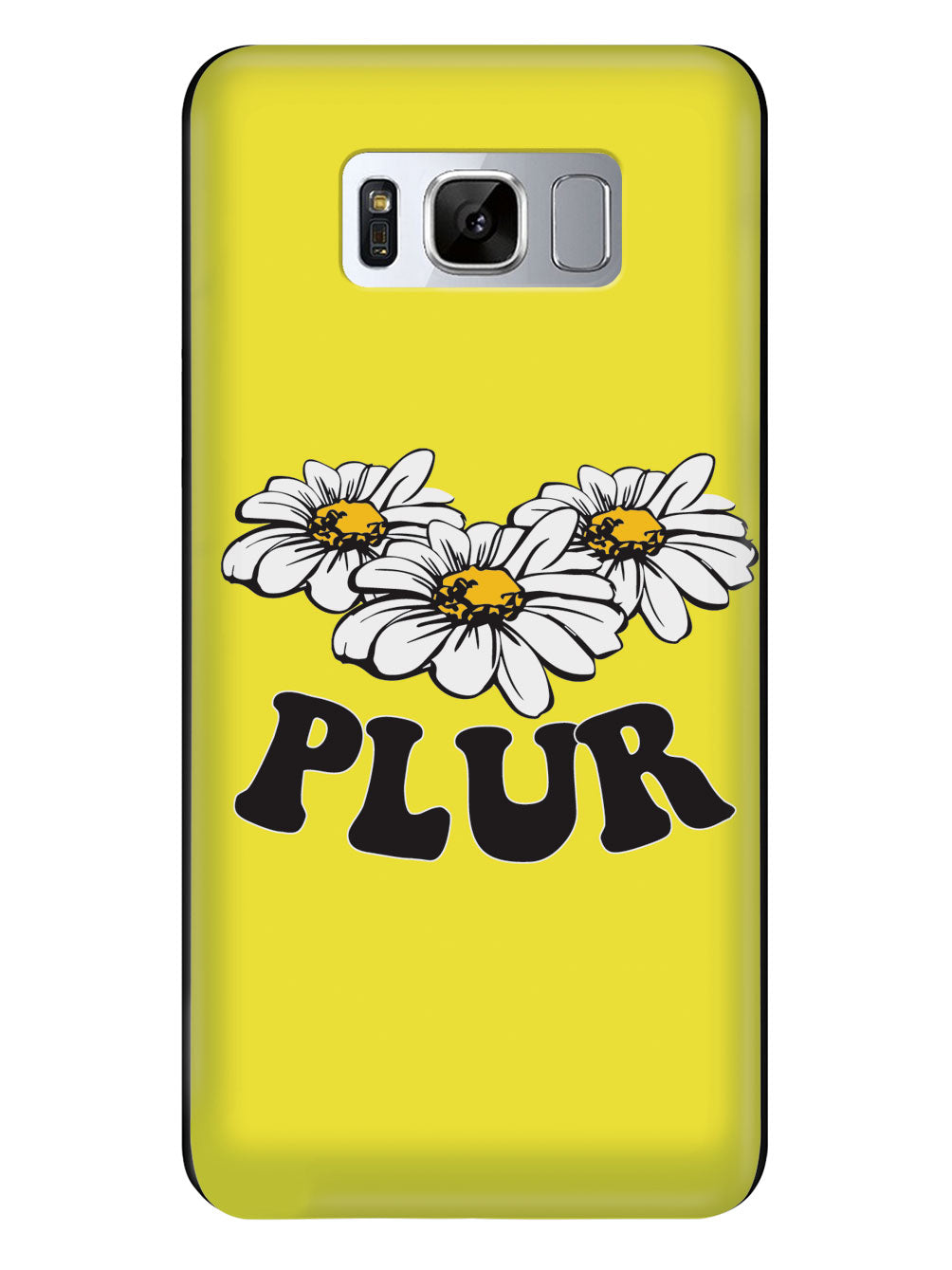 Yellow PLUR - Black Case