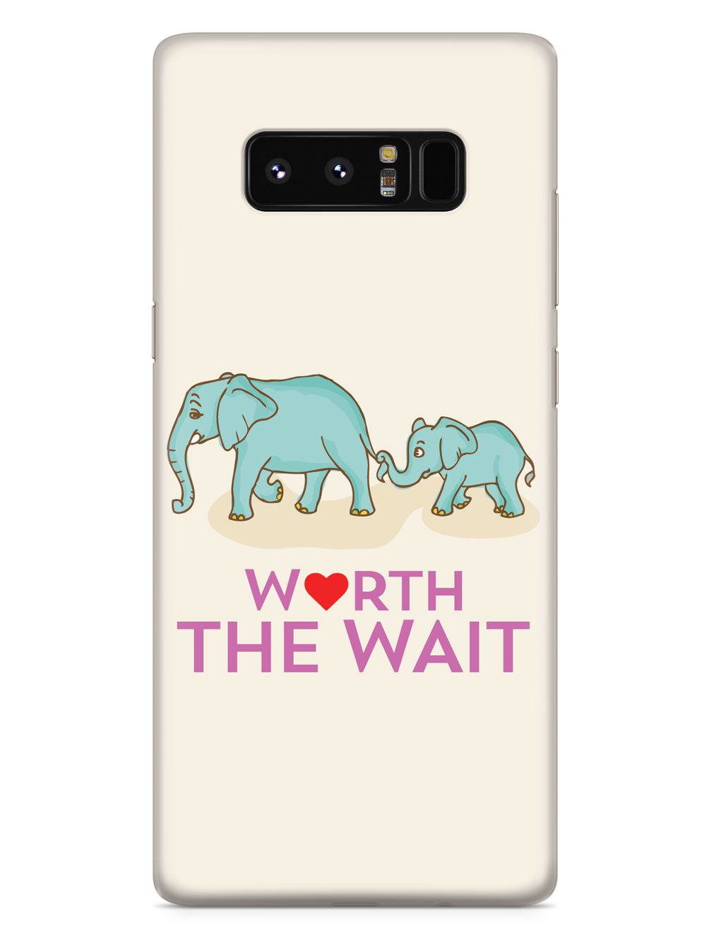 Worth The Wait - Elephants - Adoption - Black Case