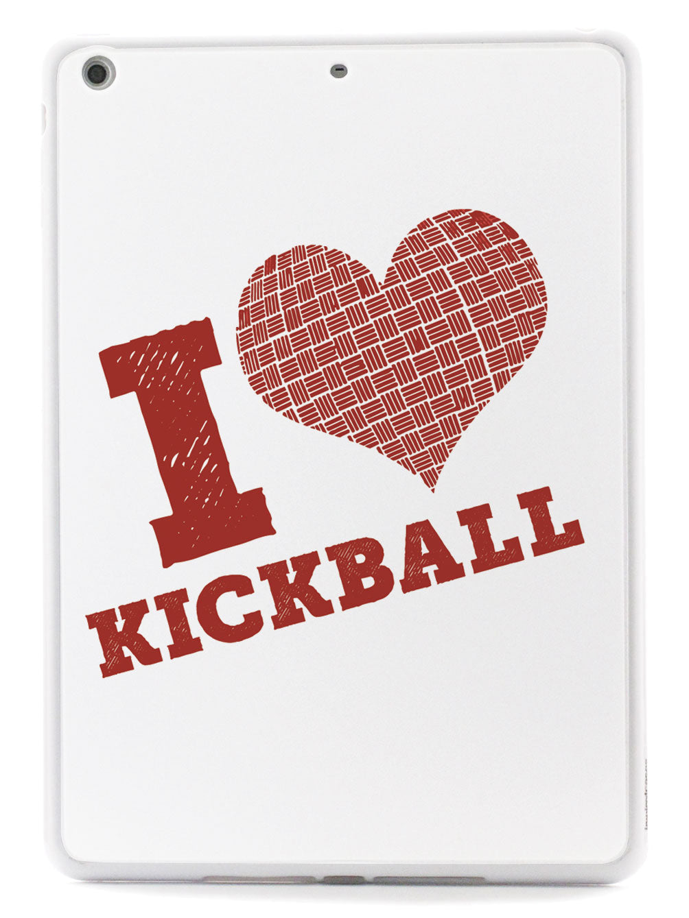 I Heart Kickball - White Case