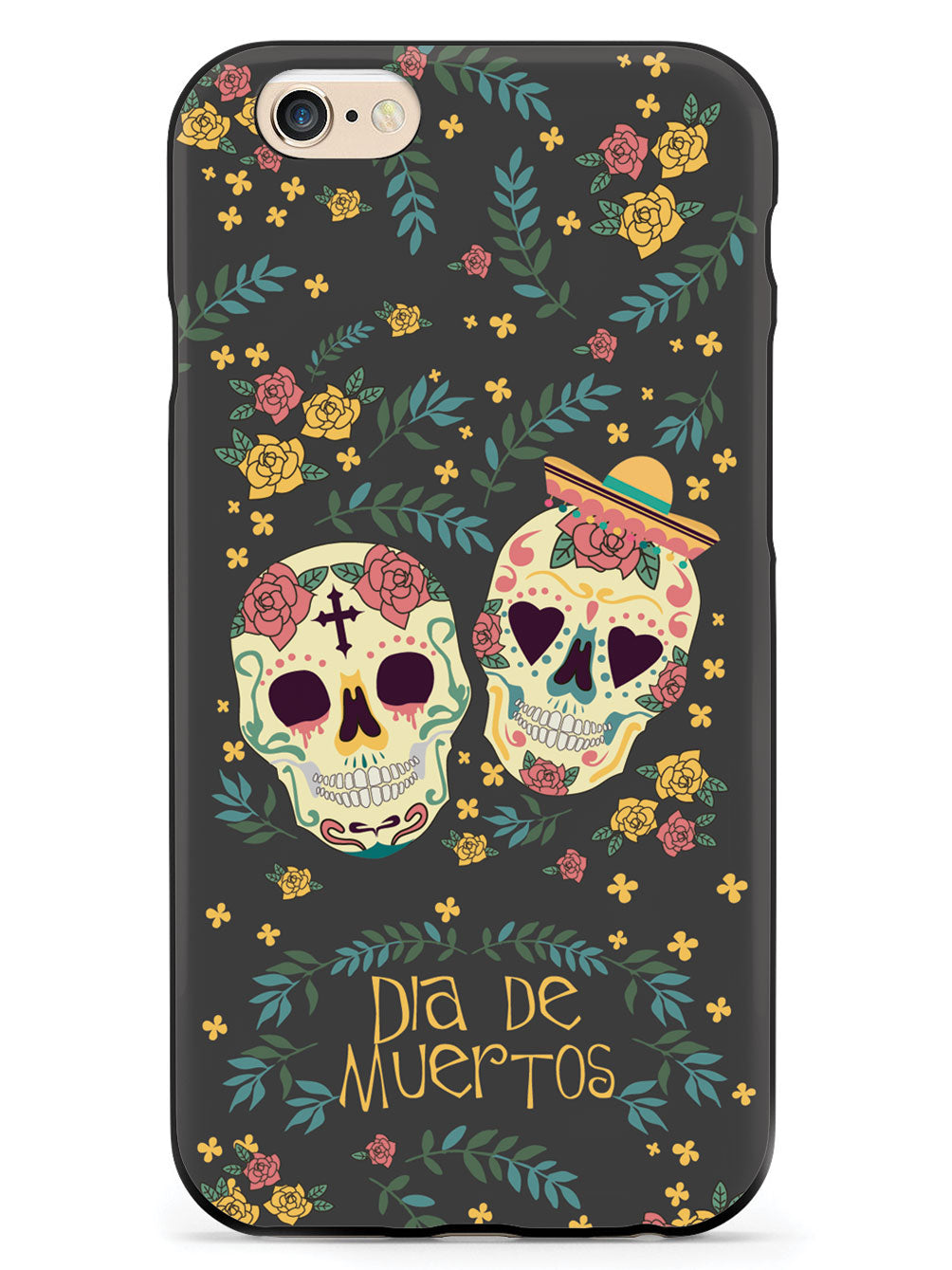 Day of the Dead - Skulls Case