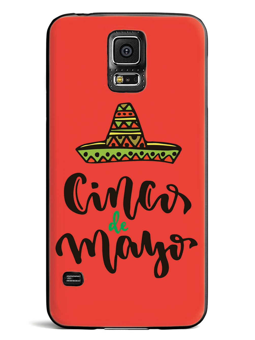Cinco de Mayo - Red - Black Case