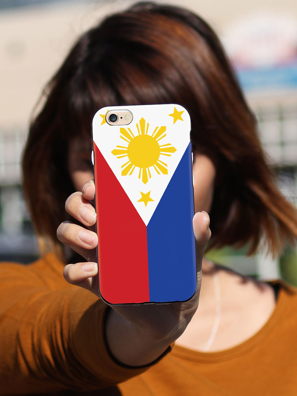Philippine Flag - Pinoy Pride - Black Case