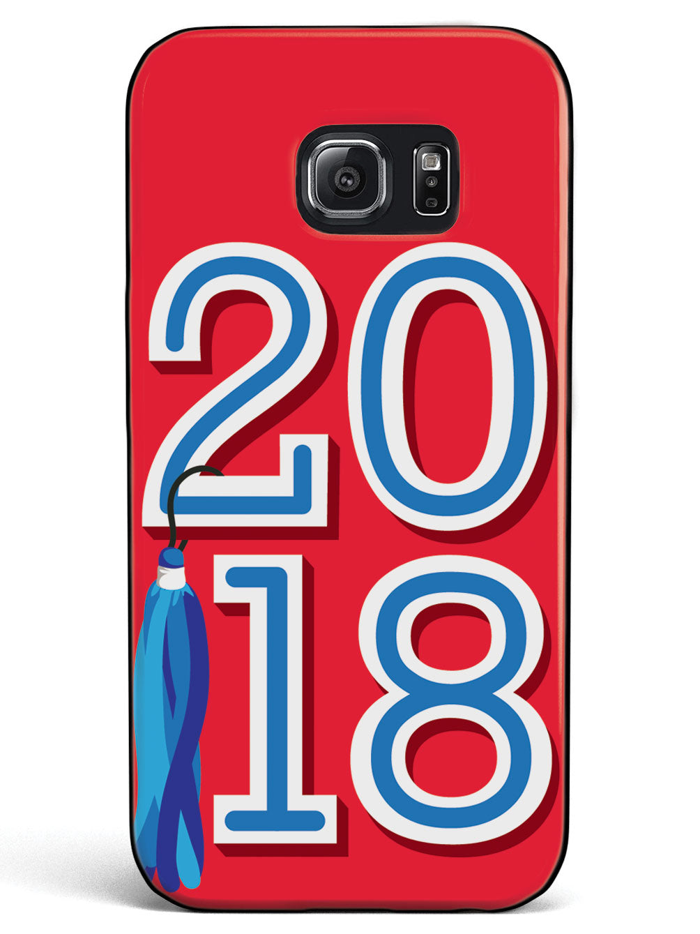 Class of 2018 - Red - Black Case