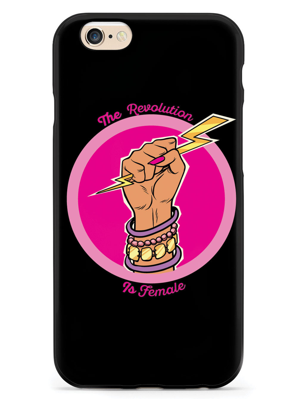 The Revolution Is Female - Black Case