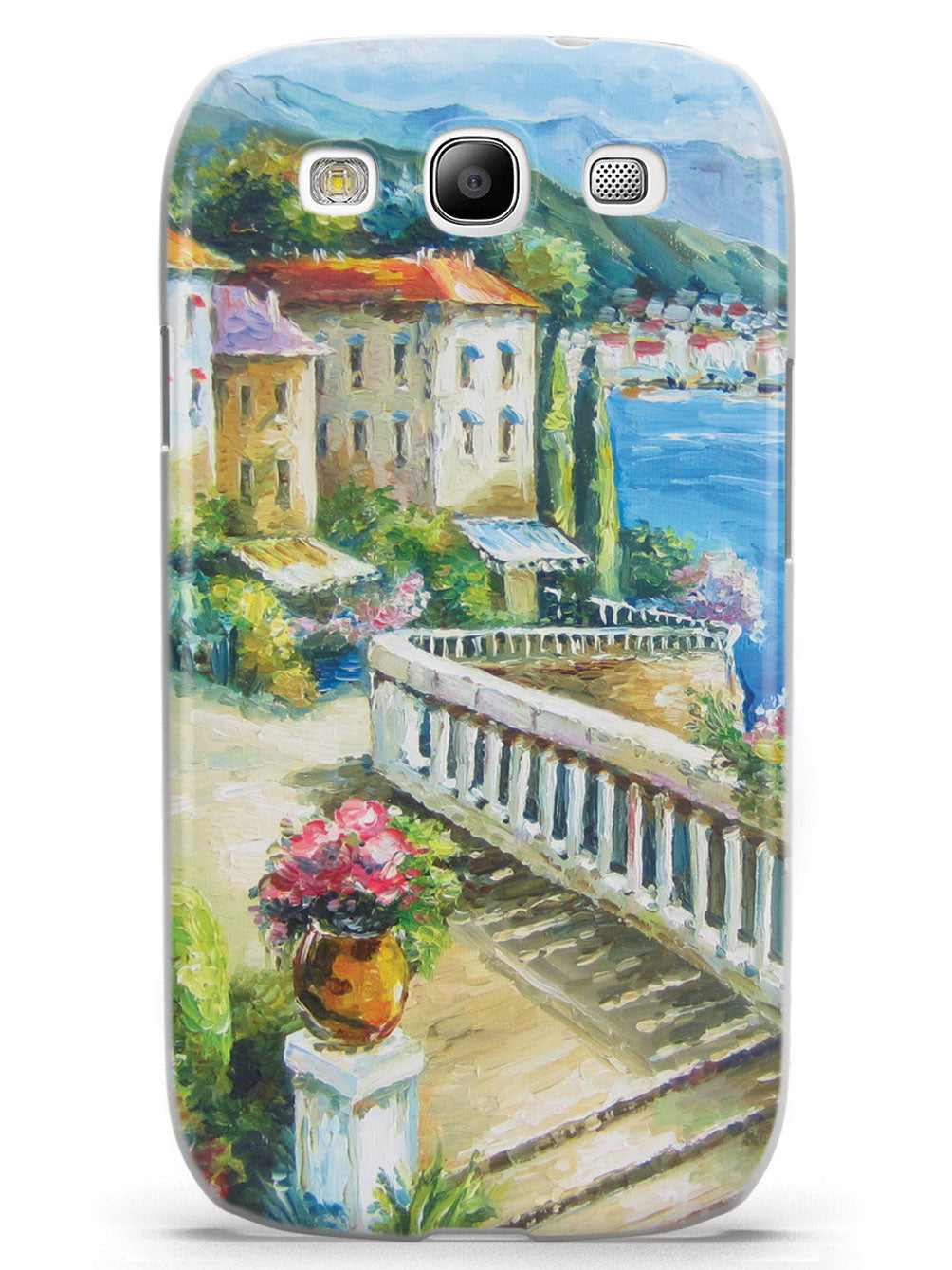 Beautiful Seaside View Impressionist Painting Case