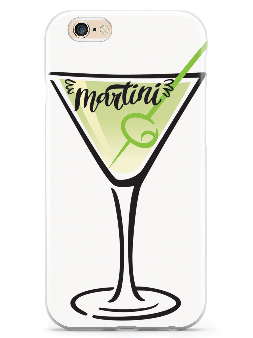 Martini Lettering - White Case
