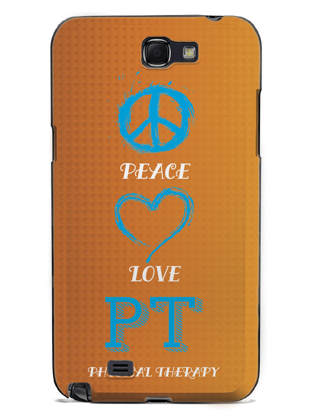 Peace, Love, Physical Therapy - Black Case
