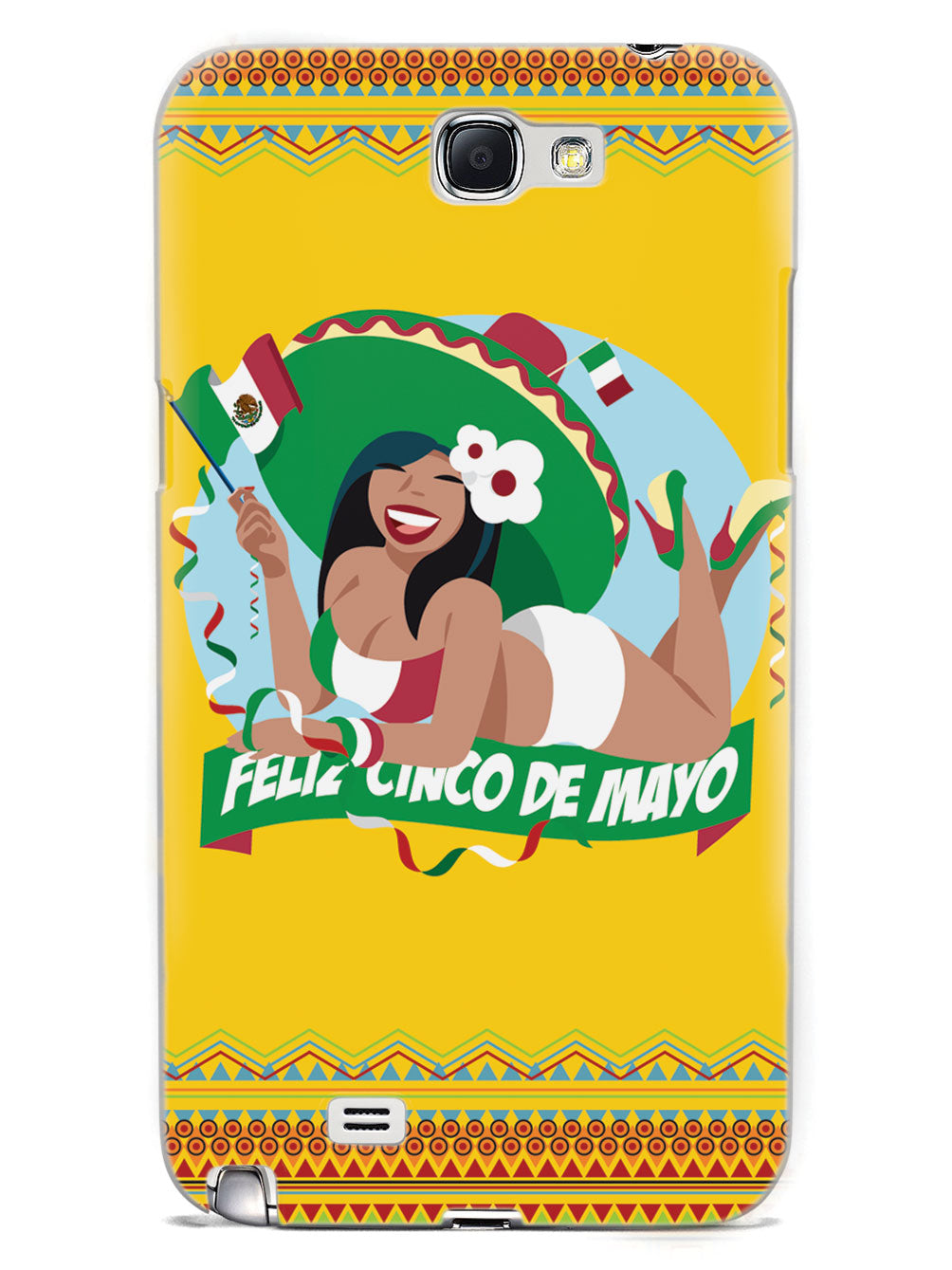 Cinco de Mayo Girl - White Case
