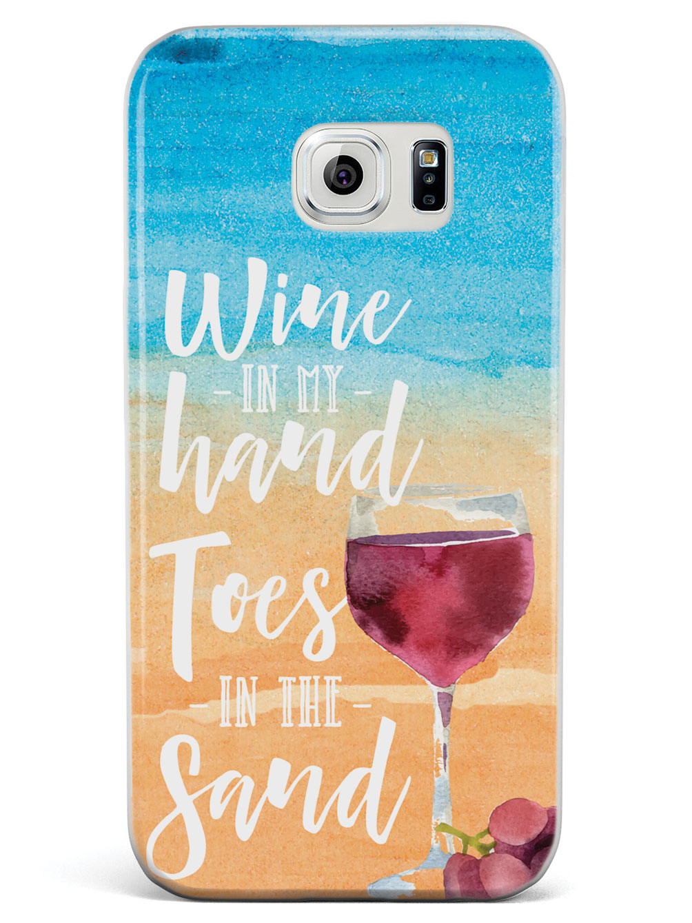 Wine in my Hand, Toes in the Sand Case