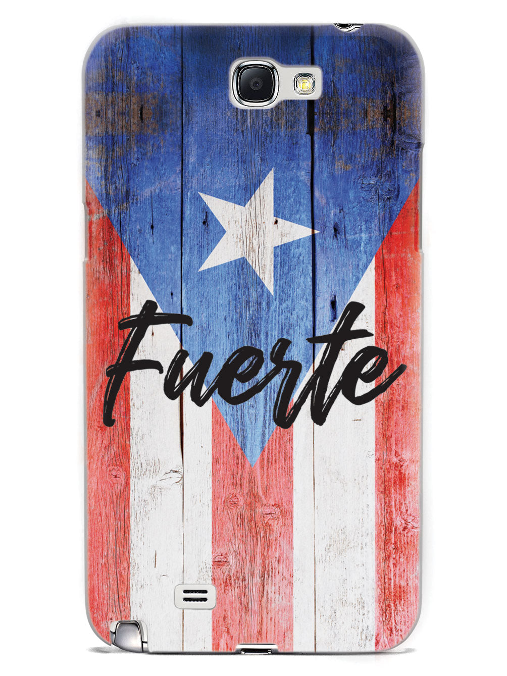 Puerto Rico Fuerte (Strong) - Textured Flag Case