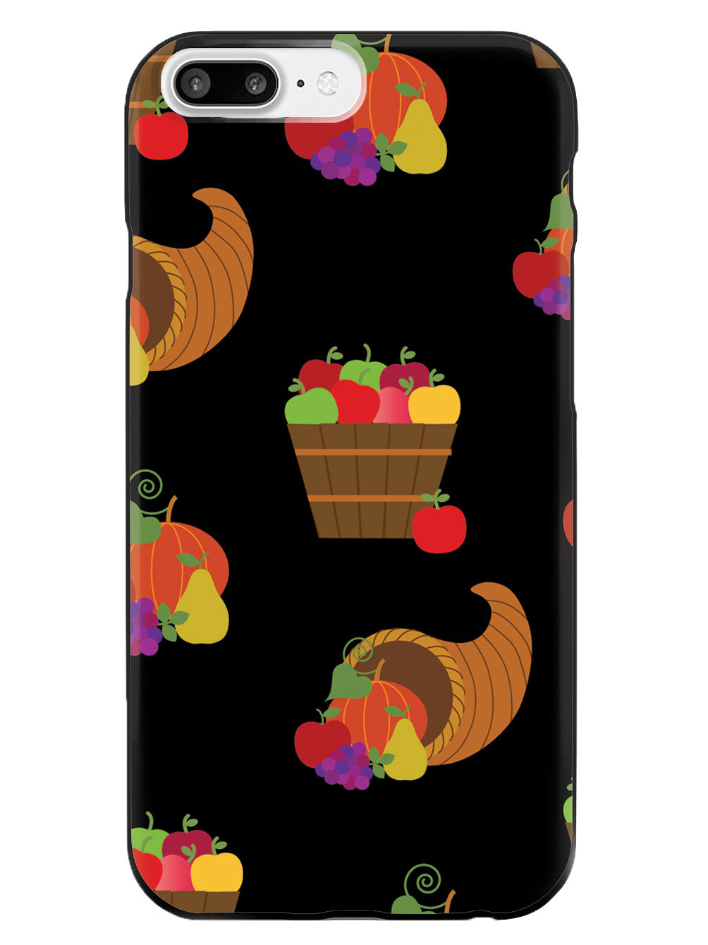 Cornucopia Pattern - Black Case
