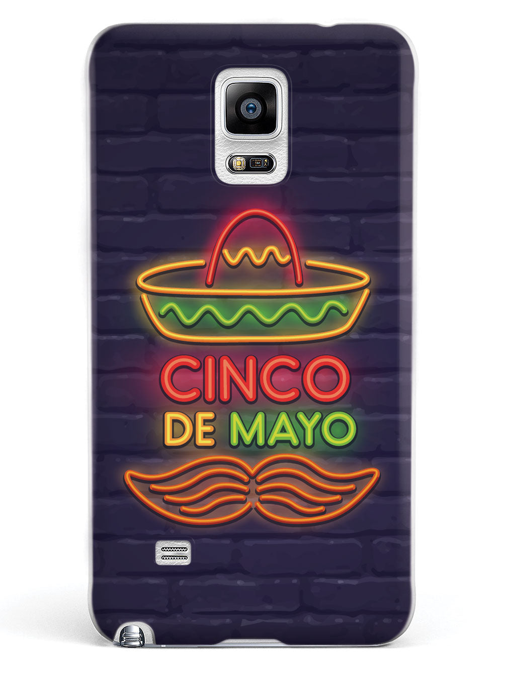 Neon Cinco de Mayo - White Case