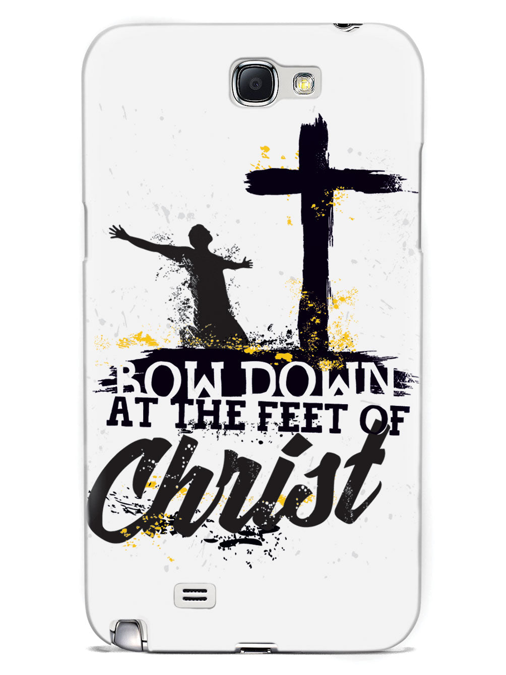 Bow Down At The Feet Of Christ - White Case