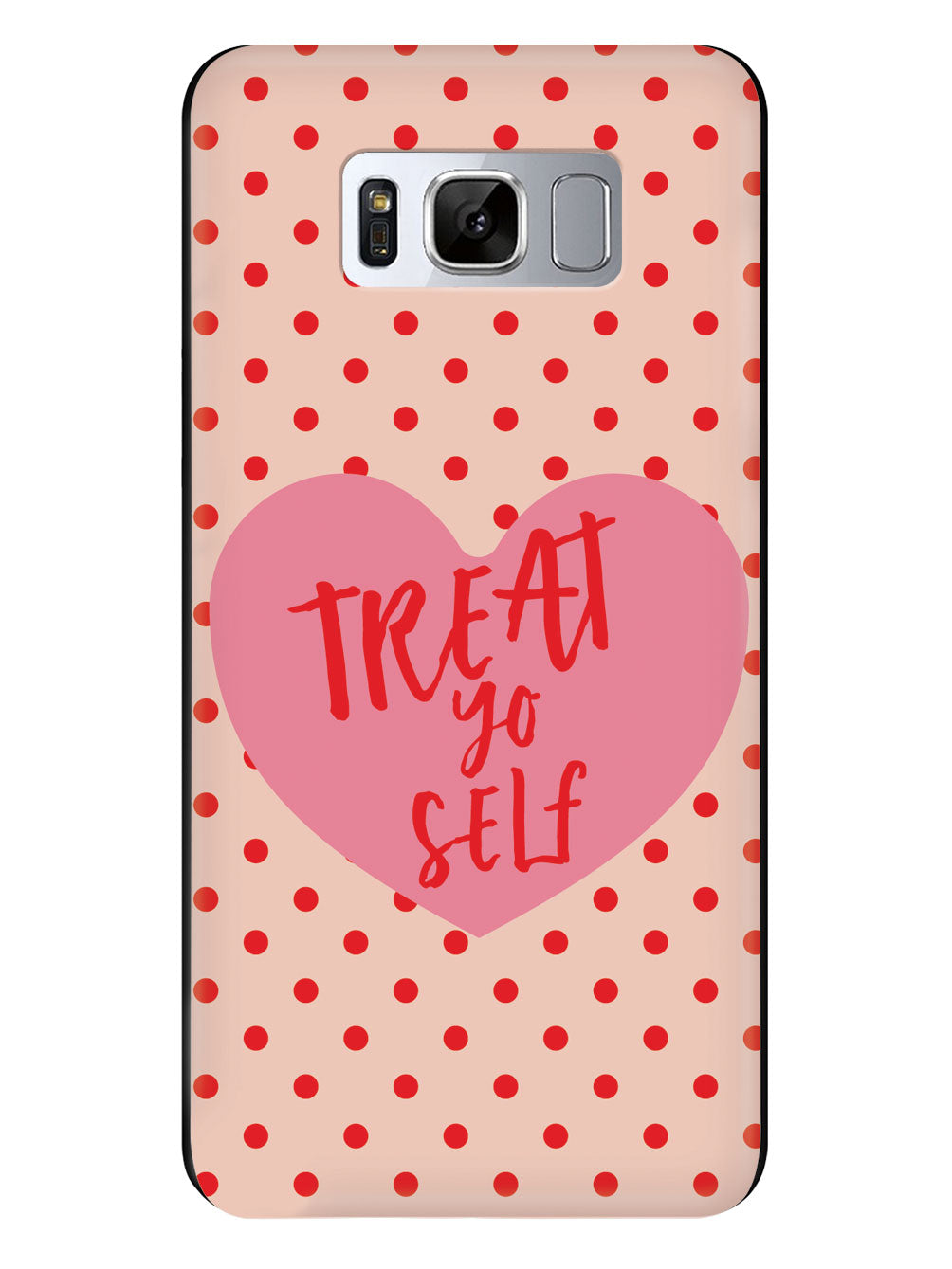 Treat Yo Self - Black Case