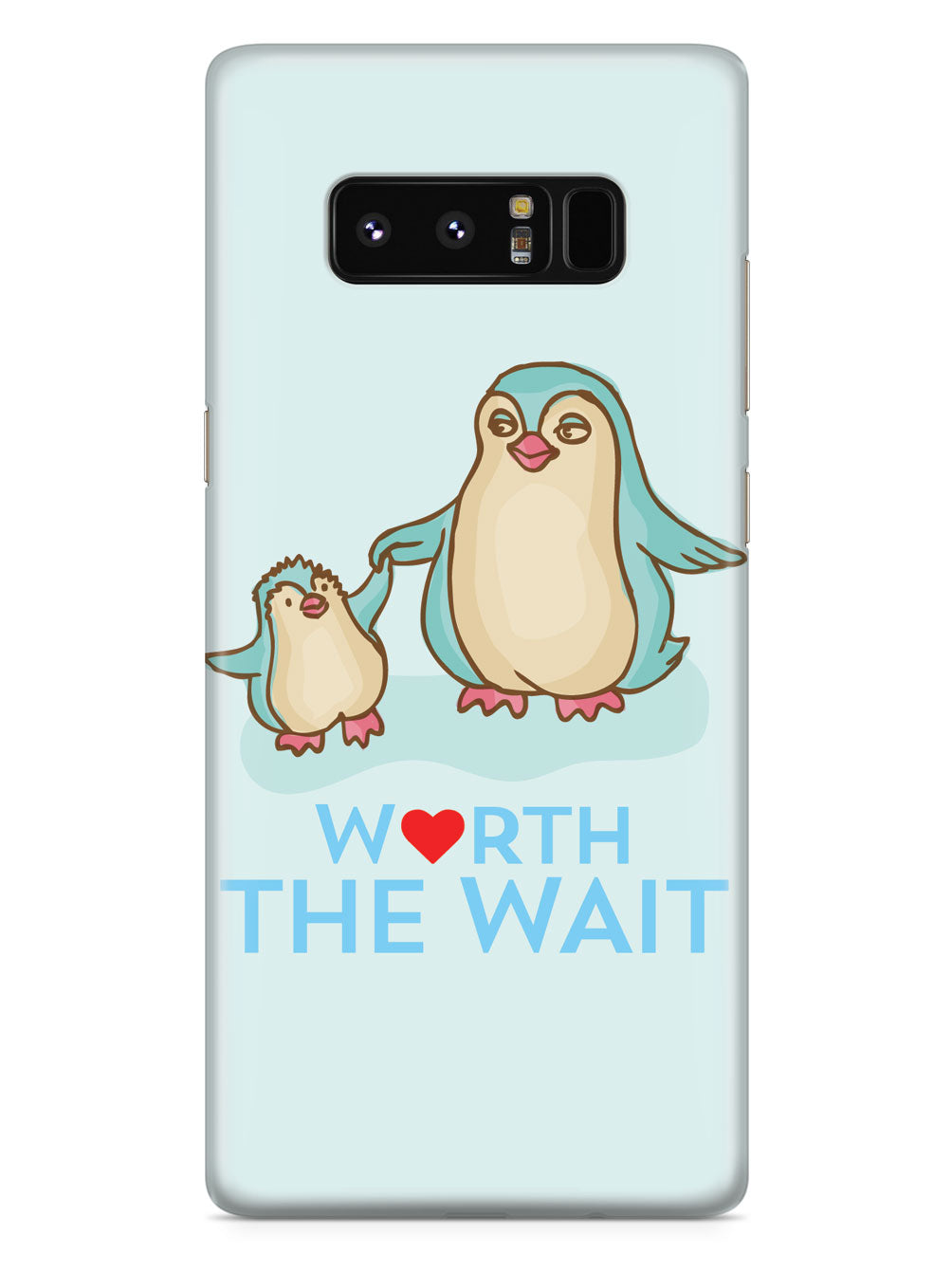 Worth The Wait - Penguin - Adoption - Black Case
