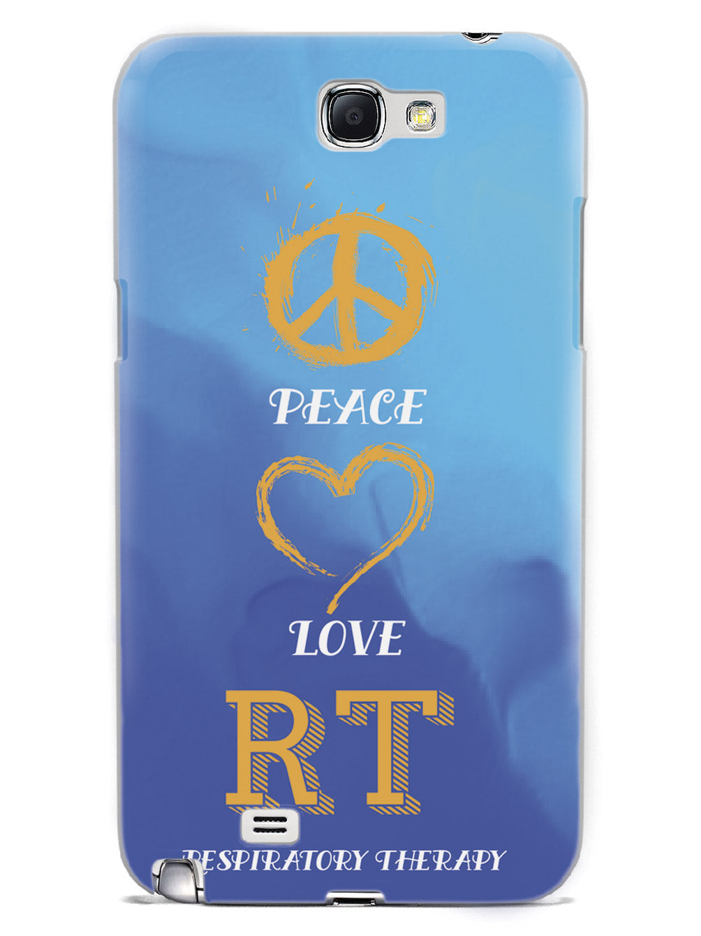 Peace, Love, Respiratory Therapy  - White Case