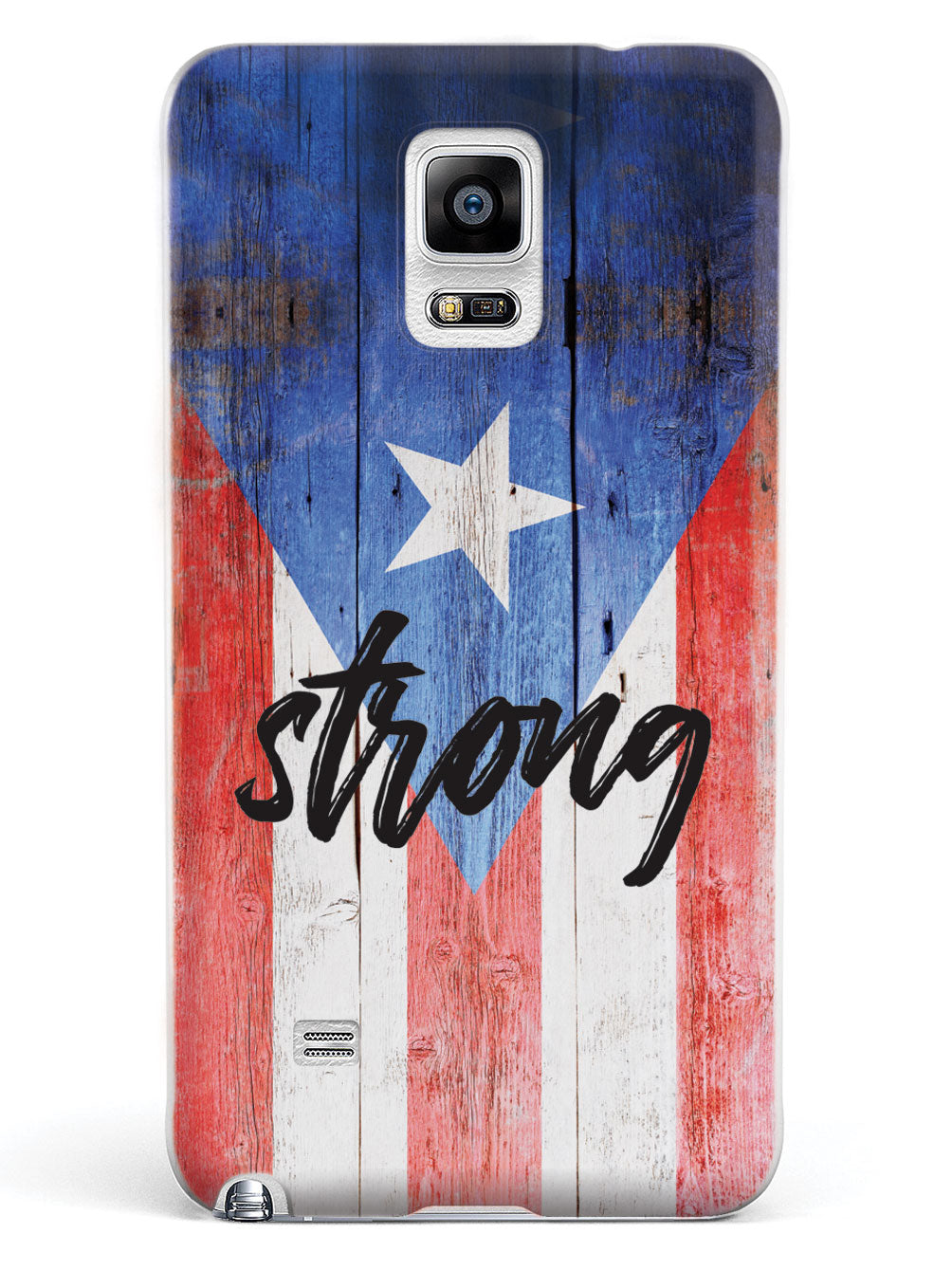 Puerto Rico Strong - Textured Flag Case
