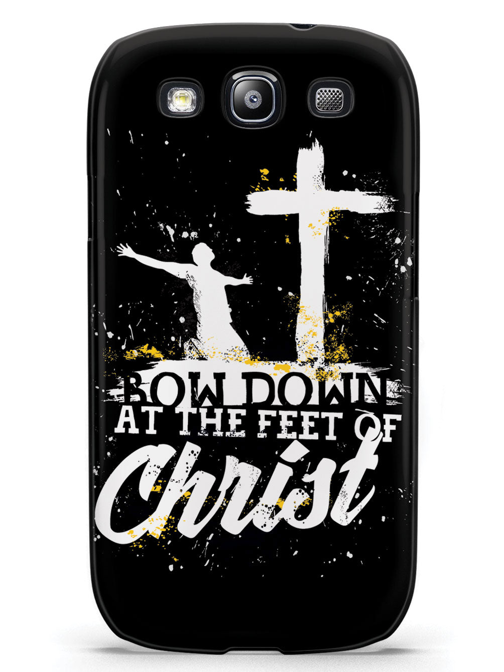 Bow Down At The Feet Of Christ - Black Case
