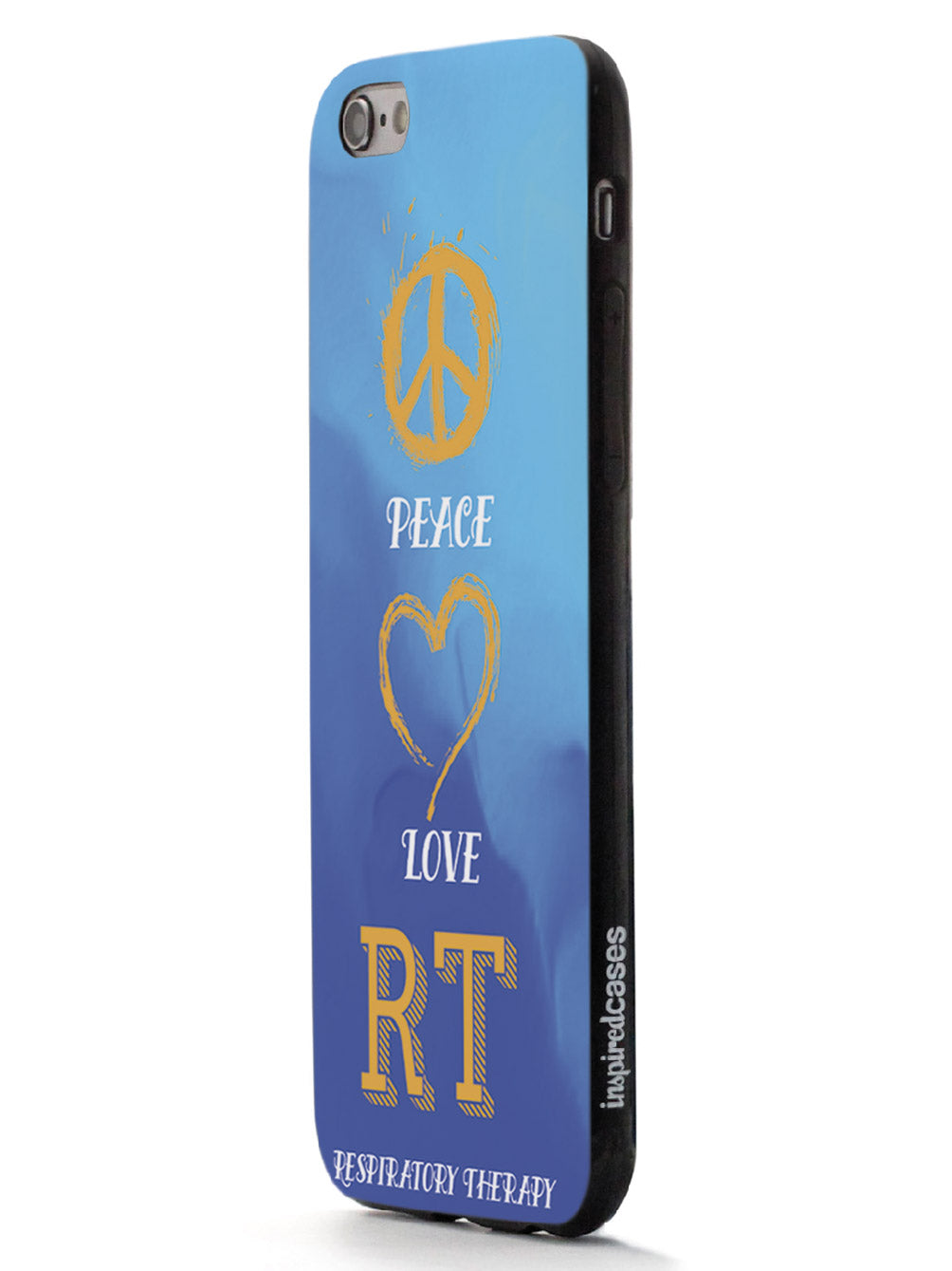 Peace, Love, Respiratory Therapy  - Black Case