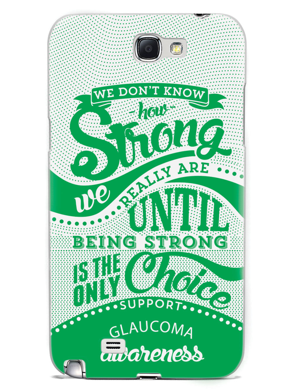 Glaucoma Awareness - How Strong Case