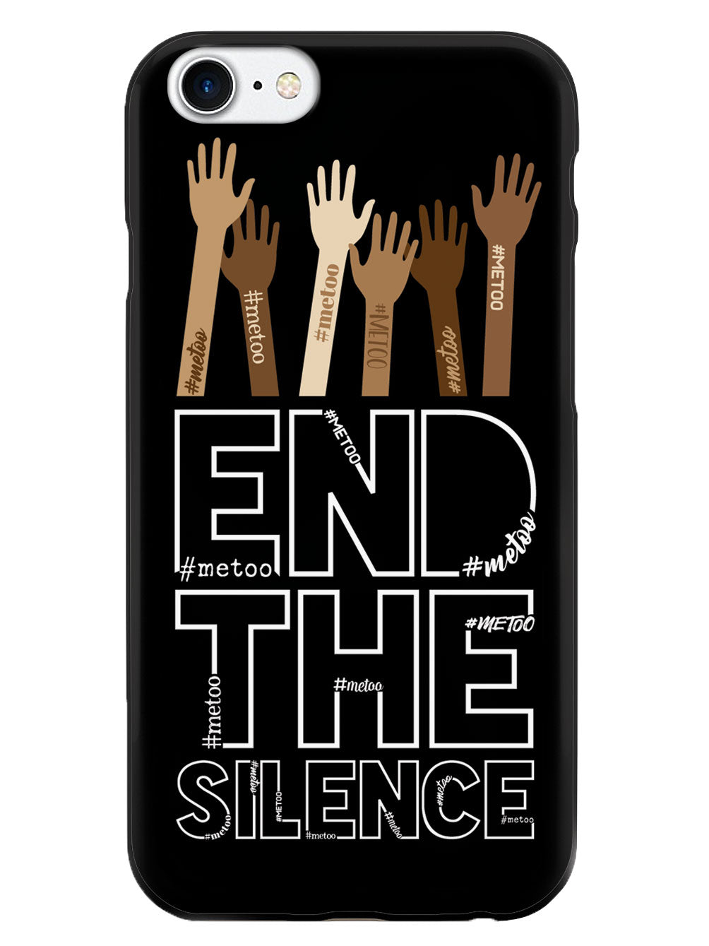 End the Silence - #METOO Movement - Black Case