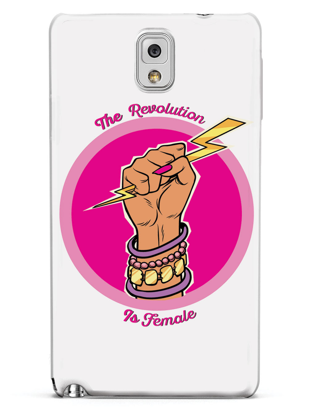 The Revolution Is Female - White Case