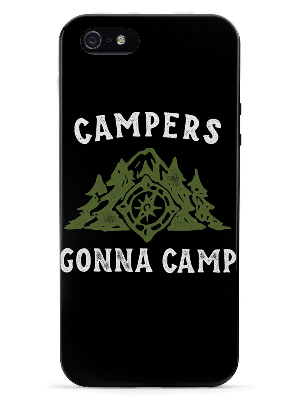 Campers Gonna Camp - Black Case