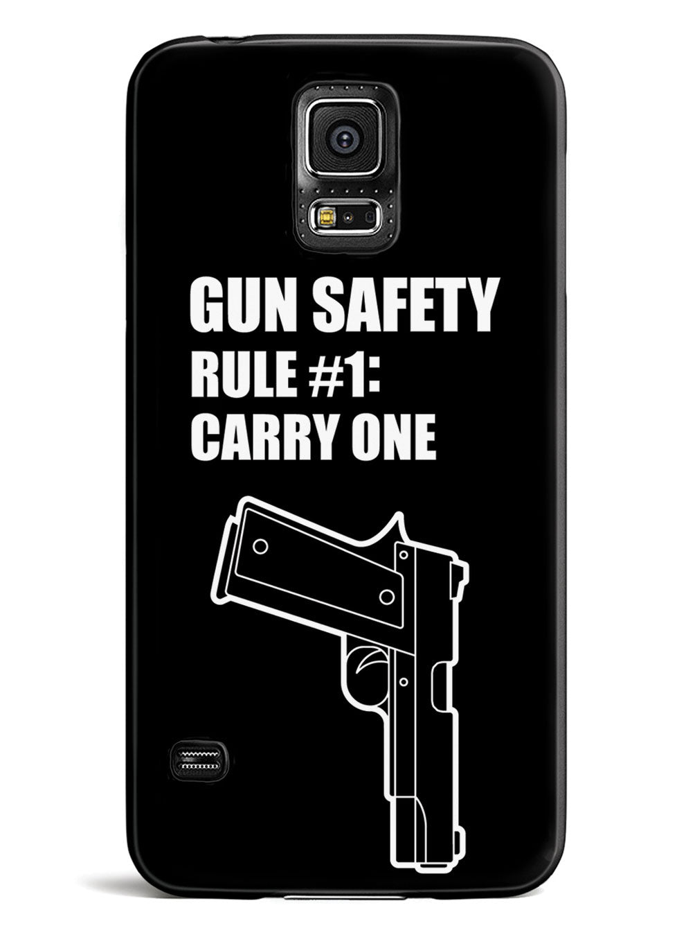 Gun Safety - Rule #1: Carry One Case