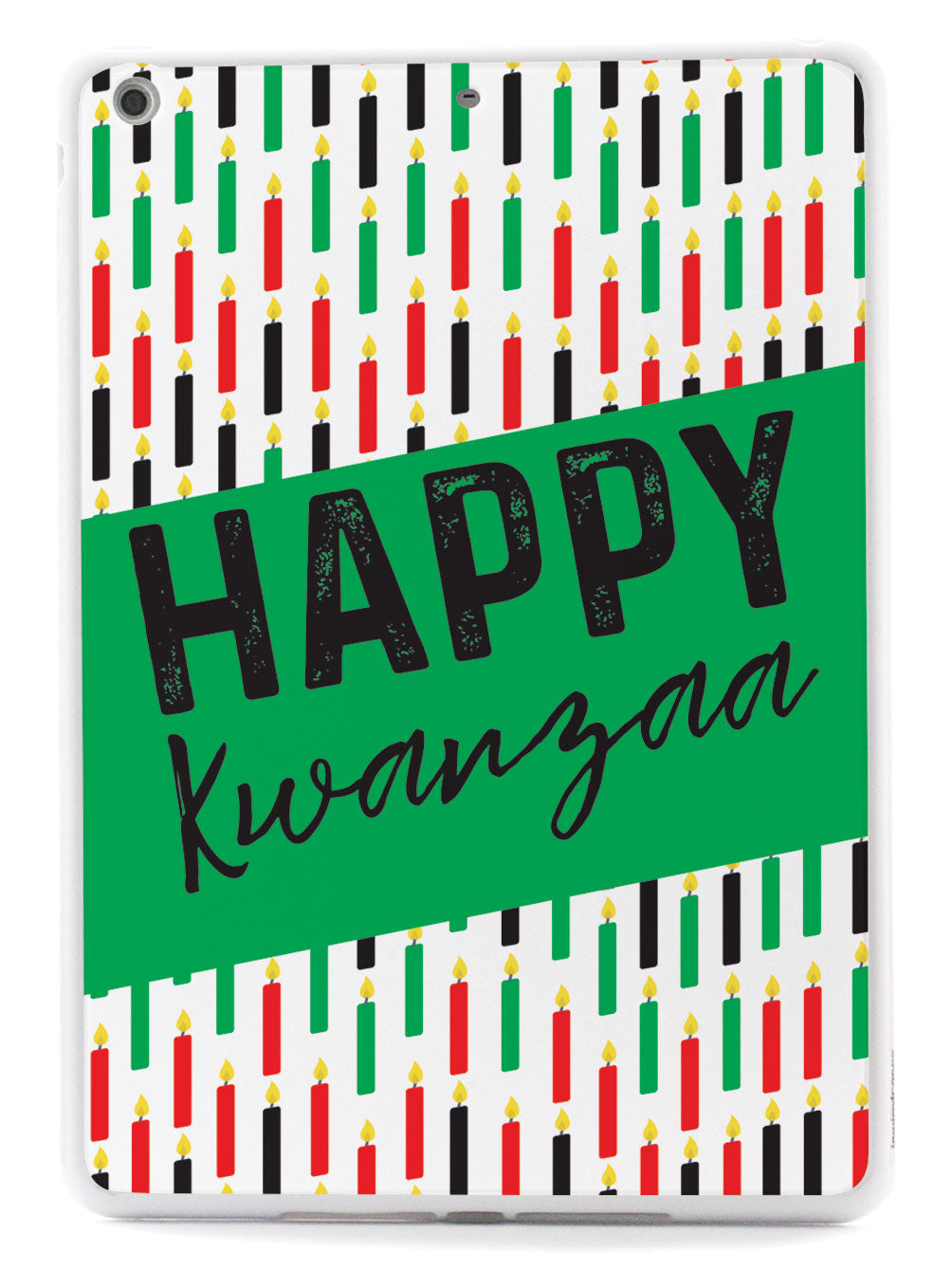 Happy Kwanzaa - Candles Case