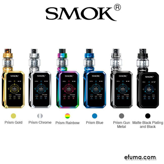 2ml G-PRIV 2 230W with TFV12 P Kit Luxe Edition fra Smok