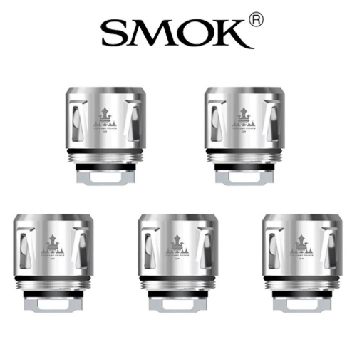 5pcs V8 Baby Q4 Replacement Coil - 0.4 Ohm fra SMOK