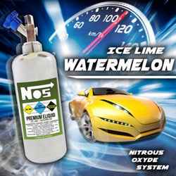 NOS E-Liquid - Ice Lime Watermelon