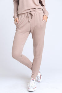 Blush Skinny Deluxe Joggers