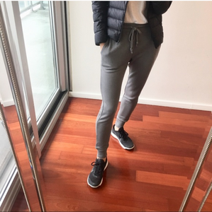 Heather Gray Skinny Deluxe Joggers