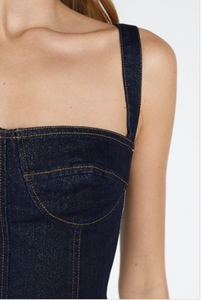 *STOCK RUNNING LOW* Denim Bustier