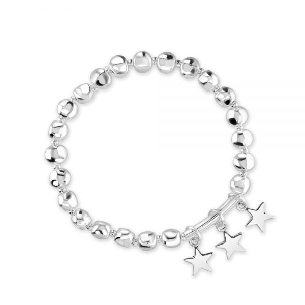 Nugget And Star Bracelet
