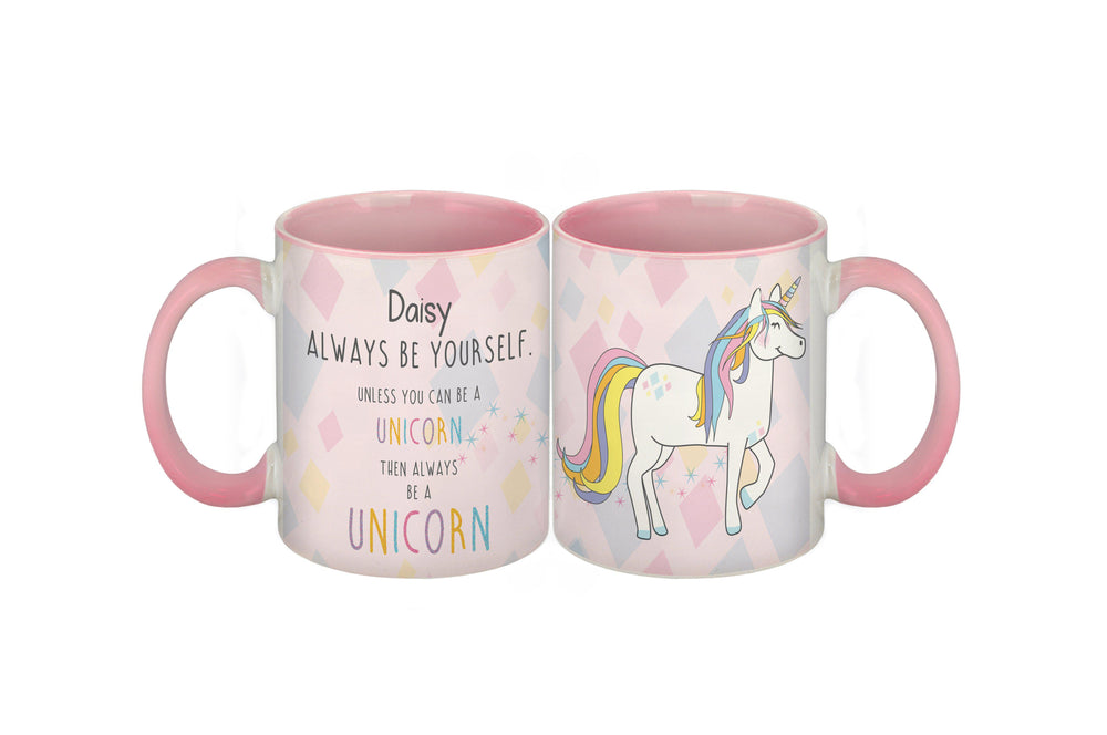 Always Be A Unicorn Pink Mug
