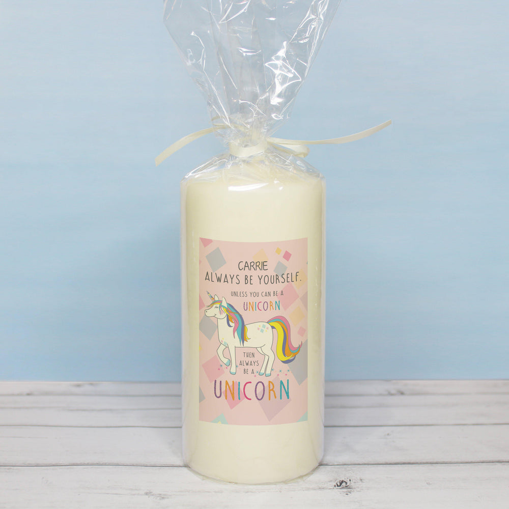 Always Be A Unicorn Candle