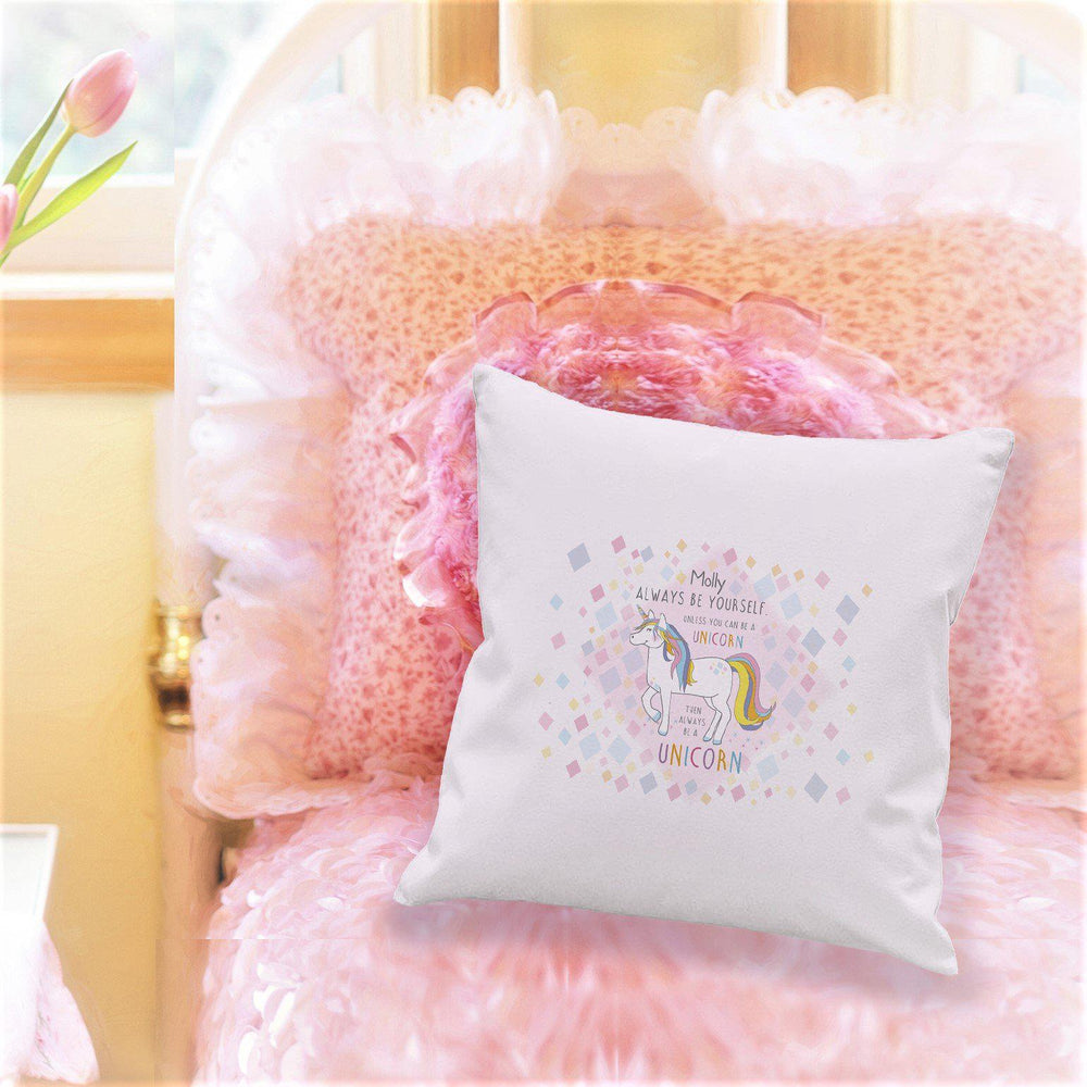 Always Be A Unicorn Cushion
