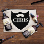 Name Personalised Beard Kit With Beard Shampoo, Conditioner And Oil